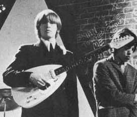Brian playin' the guitar