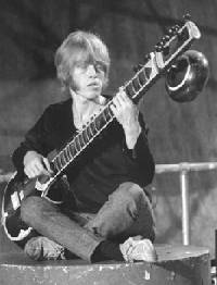Brian Jones sitar