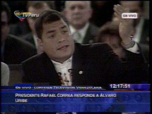 Correa vsUribe