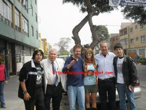 Los Saicos, Olenka Zimmermann, mi amigo Isaac y Yo xD