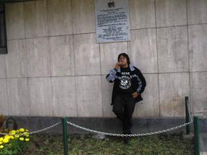La Placa y Yo después de la develación en Mayo de 2006