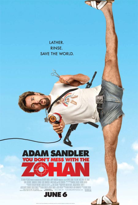 dont mess zohan poster 2 No Te Metas con Zohan   Español Latino (Online)
