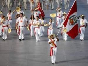 Delegación Peruana en Pekin 2008