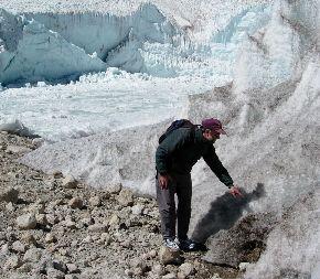 Pérdida de Glaciar