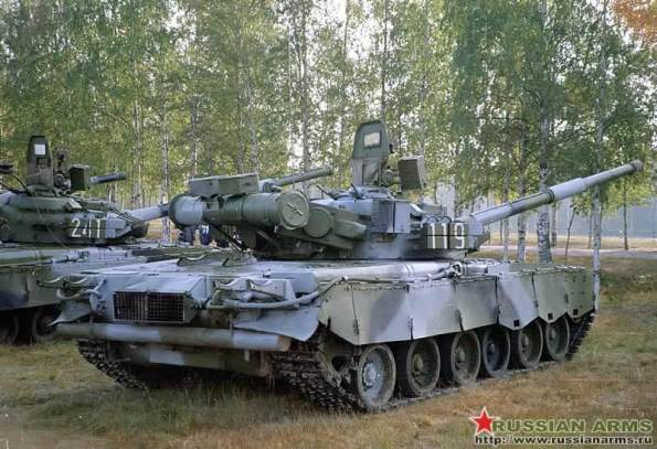 Poderoso tanque ruso T-80 para el Ejército Peruano