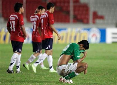 Chile eliminó a Bolivia