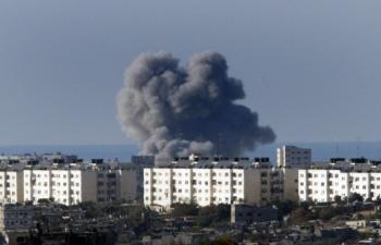 Ataques de la artilleria genocida israeli