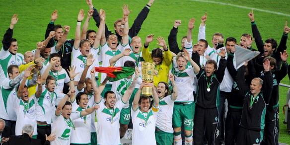 Werder Bremen campeón de la Copa Alemana