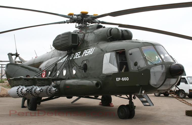 Perú comprara 3 helicópteros mi-17 y 4 Radares 3D