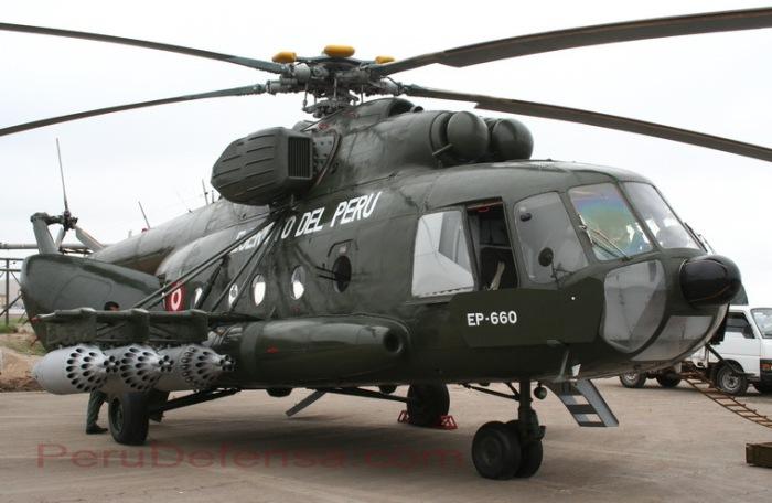 MI-17 Ejército del Perú