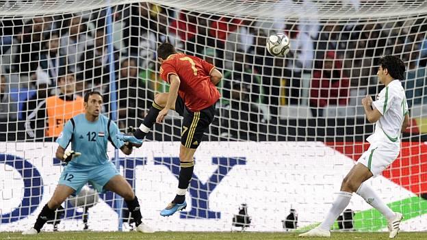 España 1 Iraq 0