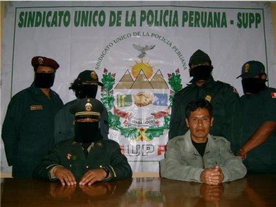 Dirigentes del SUPP