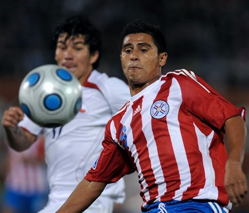 paraguay 0 chile 2