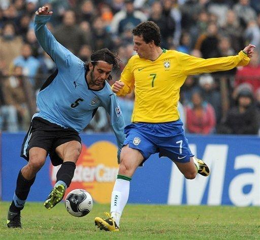 Uruguay 0 Brasil 4