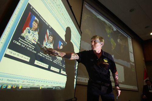 Perú es el primer país latinoamericano que logra contacto directo con Estación Espacial Internacional