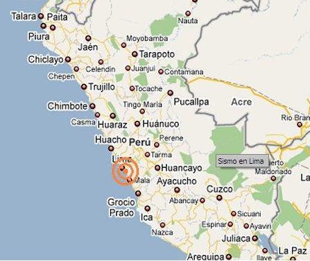 sismo lima 22 de agosto de 2009