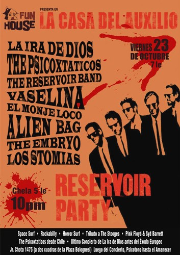 Los Stomias Reservoir Party