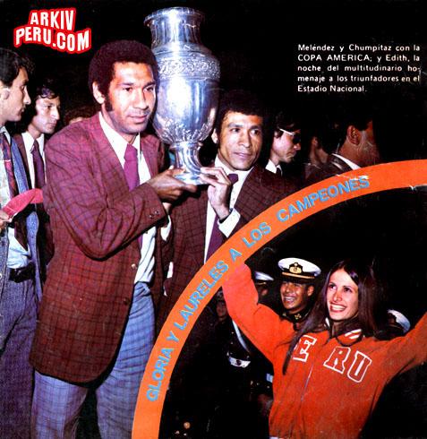 PERU CAMPEÓN DE LA COPA AMERICA 1975