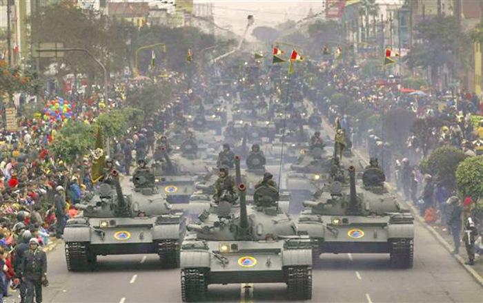 Desfile Militar Peruano