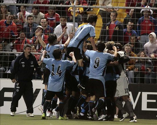 Uruguay 1  Costa Rica 0
