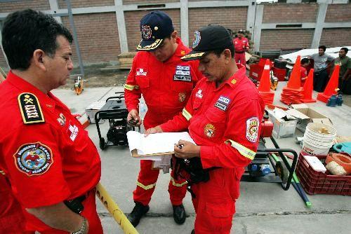 BOMBEROS PERUANOS ANDINA