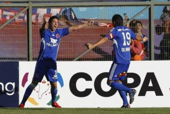 universidad de chile 1 caracas 0
