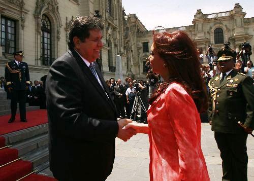 VISITA ARGENTINA A PERU