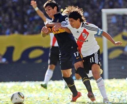 Boca Juniors 2 Rive Plate 0