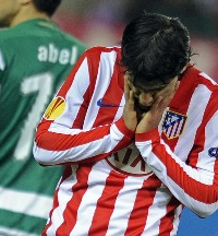 Atletico de Madrid 0 - Lisboa 0