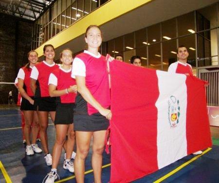 BADMINTON PERU 5 colombia 0