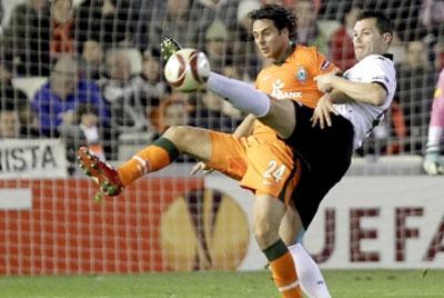 Valencia 1 Werder Bremen 1