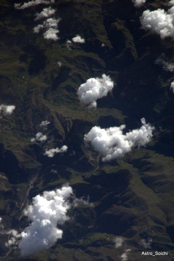 Machu Picchu desde el espacio