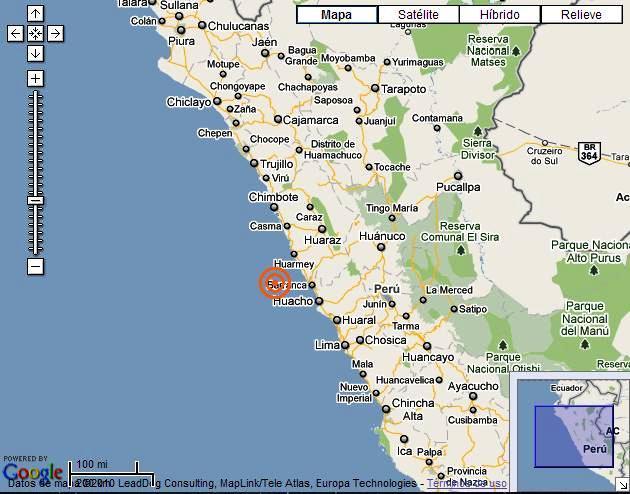 temblor 27 de marzo