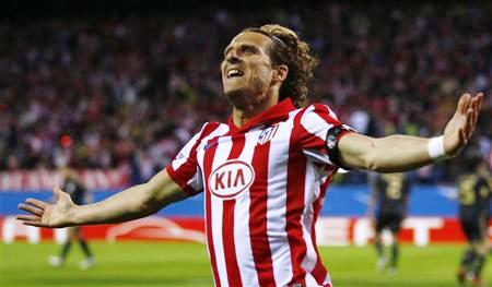 FORLAN ATLETICO DE MADRID LIVERPOOL
