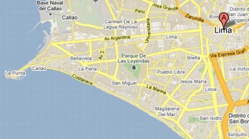 LIMA GOOGLE MAP