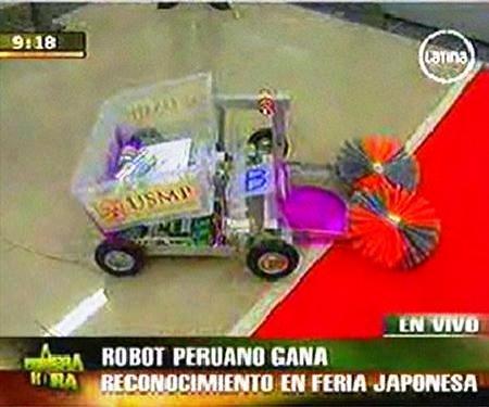 ROBOT PERUANO TRIUNFA EN JAPON