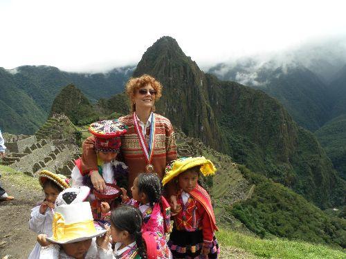 SUSAN SARANDON CUSCO PERU