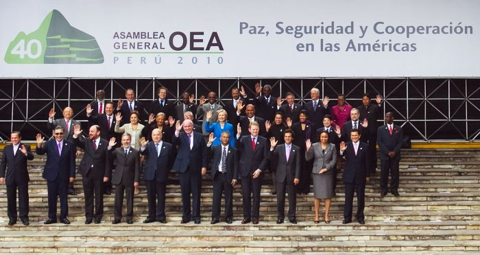 ASAMBLEA GENERAL DE LA OEA EN PERU