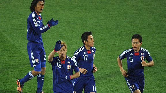 JAPON 3 DINAMARCA 1