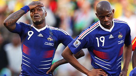 Francia 1 Sudáfrica 2