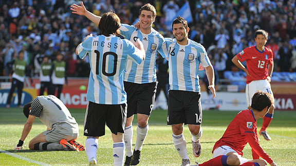 ARGENTINA 4 COREA DEL SUR 1