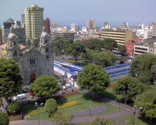 LIMA PERU MIRAFLORES