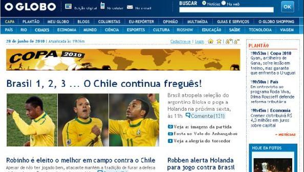 Prensa brasileña se burla de los chilenos