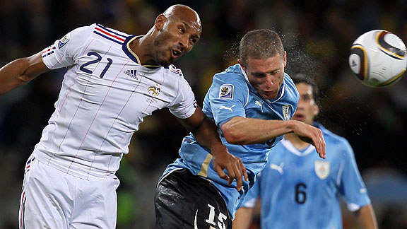 URUGUAY 0 - FRANCIA 0