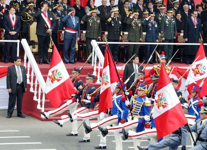 DESFILE MILITAR PERUANO 2010