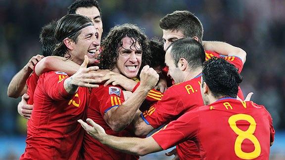 ESPAÑA 1 ALEMANIA 0