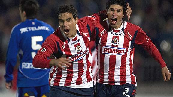 CHIVAS 2 UNIVERSIDAD DE CHILE 0