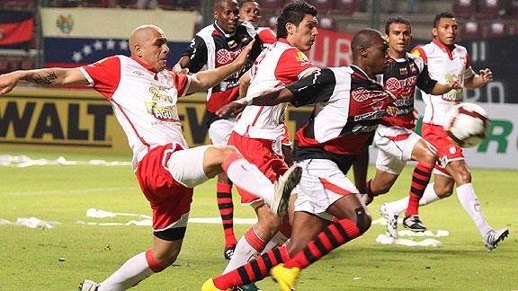 Lara 2 Independiente Santa Fe 0