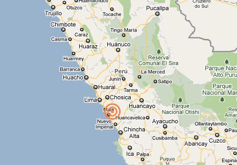 sismo lima 13 de agosto de 2010