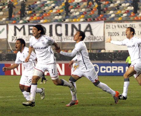 SAN MARTIN 2 Deportivo Quito 1